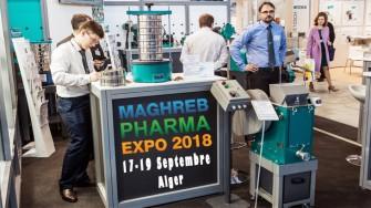 Maghreb Pharma Expo 2018 - 17 au 19 Septembre 2018 à Alger
