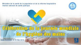 Célébration de la journée mondiale de l'hygiène des mains