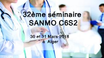32ème séminaire SANMO C6S2 - 30 et 31 Mars 2018 à Alger