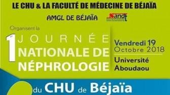 1ère Journée Nationale de Néphrologie - 19 Octobre 2018 à Béjaia