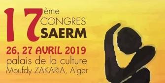 17ème congrès de la SAERM - 26 au 27 Avril 2019 à Alger