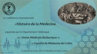 Conférence internationale d'Histoire de la Médecine