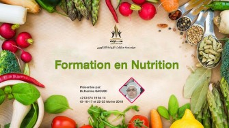 Formation en nutrition - 15-17 et 22-23 février 2018 à Batna