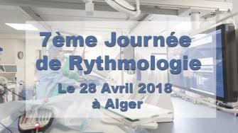 7ème Journée de Rythmologie - 28 Avril 2018 à Alger