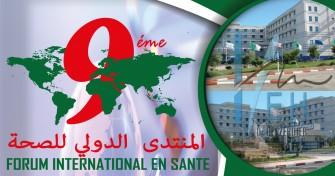 9éme Forum International en Santé de l'établissement Hospitalier Dr Benzerdjeb - 29 et 30 Juin 2019 à Aïn Temouchent - Algérie
