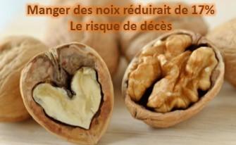 Maladie cardiovasculaires : manger des noix réduirait de 17% le risque de décès