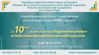 10 ème journée Nationale d'hygiène Hospitalière et de lutte contre les infections  associées aux soins