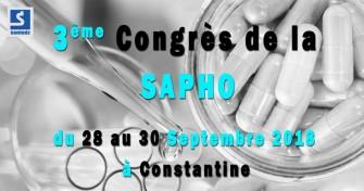 3ème Congrès de la SAPHO - 28 au 30 Septembre 2018 à Constantine
