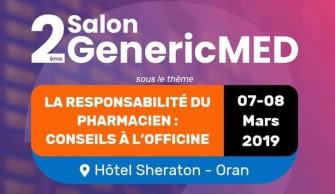 2éme Salon GenericMed-07 et 08 Mars 2019