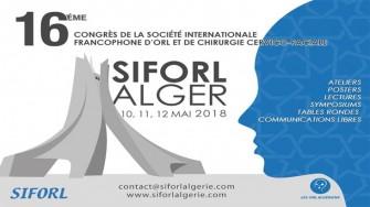 16ème congrès de la SIFORL - 10 au 12 Mai 2018 à Alger
