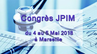 Congrès JPIM - 4 au 5 Mai 2018 à Marseille