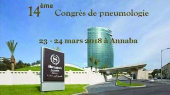 14ème congrès de Pneumologie -  23 et 24 Mars 2018 à Annaba