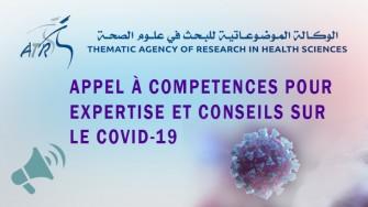 Appel à compétences pour expertise et conseils sur le covid-19