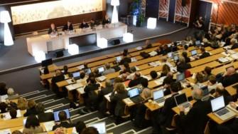 Une conférence d'enseignement universitaire à Blida
