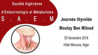Journée Thyroïde Moulay Ben Miloud - 03 Novembre à Alger