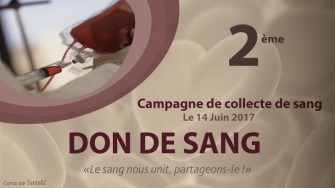 Don de sang : lancement de la 2ème campagne de collecte