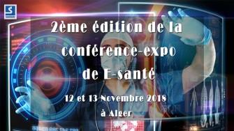 2ème édition de la conférence-expo de E-santé - 12 et 13 Novembre 2018 à Alger