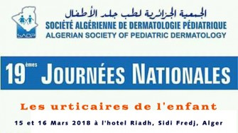 19èmes journées nationales de la SADP - 15 et 16 Mars 2018 à Sidi Fredj, Alger